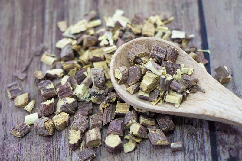グリチルリチン酸の原料である甘草
